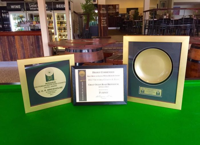 Two Golden Plate Awards for our Brewhouse