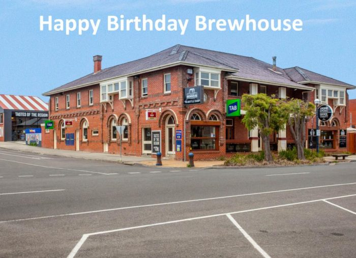 Birthday Celebrations at the Great Ocean Road Brewhouse