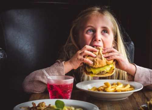 Kid Eating Food